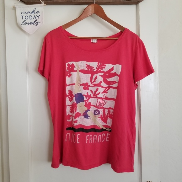 Anthropologie Tops - Anthropologie t.la Nice France Graphic Tee